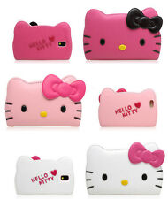 [ES] Hello Kitty Galaxy Note5,Note4,Note3 Carcasa Funda Billetera Cover 3colors