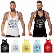 New Men's Sleeveless T Shirt Tank Top Gym Sport Fitness Muscle Bodybuilding Vest