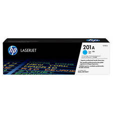 GENUINE HP CF401A / 201A CYAN LASER PRINTER TONER CARTRIDGE