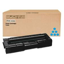 GENUINE RICOH 406349 CYAN MONO LASER PRINTER TONER CARTRIDGE (TYPE SPC 310 HE)