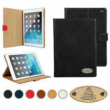 Stylish Leather Smart Flip Stand Luxury Designer Case Cover For All Apple iPads