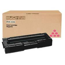 GENUINE RICOH 406481 HIGH CAPACITY MAGENTA LASER PRINTER TONER CARTRIDGE
