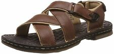 LEE COOPER BRANDED LEATHER SANDALS IN TAN COLORS MRP 1899+100 SHIPPING CHARGES