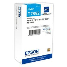 EPSON T7892 XXL EXTRA HIGH CAPACITY CYAN INK CARTRIDGE C13T789240 (79XXL)