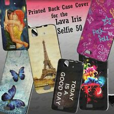 Designer Soft Back Case Cover For Lava Iris Selfie 50