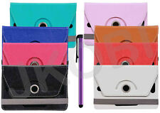 Tablet Book Flip Cover For iBerry Bt07 (Universal) (Free Stylus)