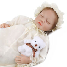 Reborn Baby Dolls Vinyl Silicone Baby Girl Doll Real Life Newborn Birthday Gifts