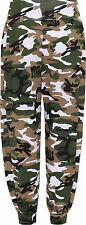 Womens Camouflage Harem broek dames Full Length Print Stretch broek