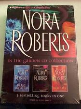 NORA ROBERTS GARDEN CD COLLECTION (3 audio book on CD) *** FREE SHIPPING ***