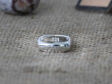 925 Sterling Silver Square Inspired Ring + Free Gift Bag !!