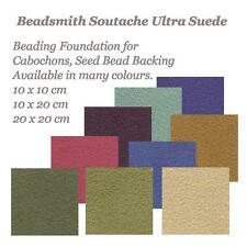 UltraSuede Soutache Beadsmith Beading Foundation Cabochon Backing Ultra Suede