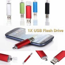 16GB Micro 5 Pin + USB Memory Pen Drive for Android Phone Samsung HTC Sony LG PC