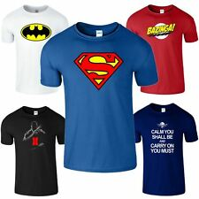 Superman Batman Bazinga Call Of Duty Super Hero New Mens T-Shirt Top Tee