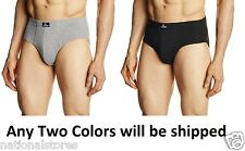 2pc Jockey Mens Contour Briefs/Underwear Style#1009- 100% Cotton Rib Fabric