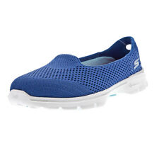 Ladies  SKECHERS GOWALK 3 - INSIGHT Comfy Every day Casual Shoe Blue 13983 BLU