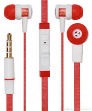 Universal Headsfree Earphones With Mic For All Smartphones Tablets MP3 Players