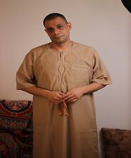 Men,Kaftan,Jilbab,Thobe,Dishdasha,Egypt,Cotton,Islamic,Arabic,Abaya,galabeya