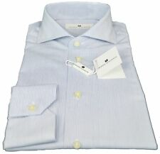 Camicia Pierre Balmain Uomo Men Shirt Button Down Regular Fr  47-10 B.Bia-B
