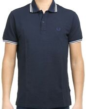 Polo T-shirt Maglia Uomo Men Fred Perry Made Italy Stretch Slim Fit 1153