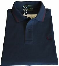 Polo T-shirt Maglia Uomo Men Fred Perry Made Italy 3202 storm