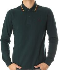 Polo T-shirt Maglia Uomo Men Fred Perry Made Italy 3207