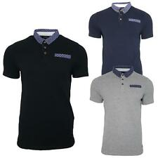 Mens Polo Shirt Casual Slim Fit Stylish Short Sleeve Designer T-shirt Summer Tee