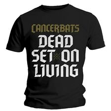 Cancer Bats - Dead Set On Living - T-shirt Ufficiale Uomo