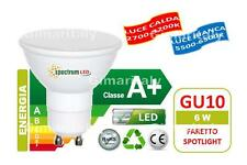 Lampadine Led GU10 6W faretto SMD 2835 Spectrum
