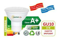 Lampadine Led GU10 8W faretto SMD 2835 Spectrum