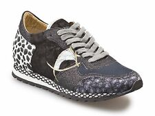 Sneakers Philippe Model donna in pelle patchwork