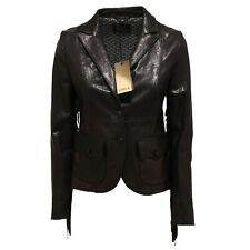 7300O giacca pelle CYCLE nero giubbotto donna jacket woman