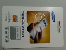 Samsung 64GB EVO Class 10 microSD Card with Adapter New
