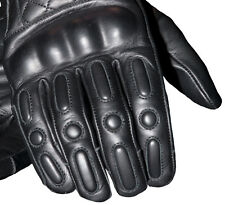RST RETRO Black Motorbike/Cruiser/Harley/Touring Leather Gloves S M L XL 2XL