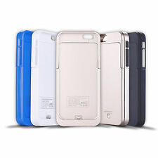 Für Apple iphone 6 Lade Cover Schale Case Notfall Akku Emergency Charger 3200mAh