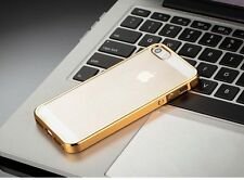 mStick Electroplated Series Soft TPU Back Cover Case For Apple iPhone 5/5S/SE