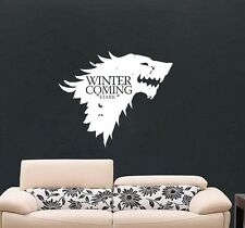 Game of Thrones l'inverno sta arrivando Stark House Da Parete