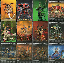Auswahl: WARHAMMER: VISIONS-Augaben Nr.1-20-Games Workshop Magazin-deutsch