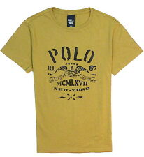 GENUINE RALPH LAUREN MENS MCMLXVII  POLO T-SHIRT. S,M,L,XL,XXL