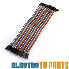 Dupont 10, 20, 40pcs Male to Female 20cm Jumper Wire Ribbon Arduino Cable Pi
