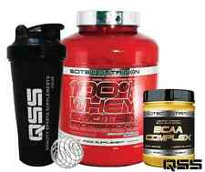 SCITEC NUTRITION 100% WHEY PROTEIN PROFESSIONAL & SCITEC NUTRITION BCAA COMPLEX
