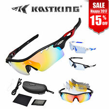 KastKing Coso Sports Sunglasses Cycling Golf 5 Interchangeable Lenses Men&Women