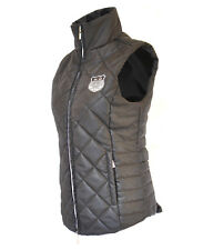 Mark Todd Ladies Lightweight Quilted Gilet / Bodywarmer - Black Size 10-16
