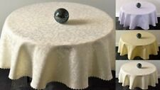 "High Quality Tablecloth ""PRESTIGE"" Round,Oval available 4 sizes & 3 colours"