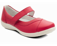 Padders Denise Soft Leather Wide Fitting  'Mary Jane' Shoes