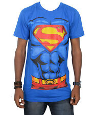 New Stylish Design Super Man Round Neck T-Shirt For Men