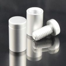 SATIN STAND OFF BOLTS - SIGN FIXINGS- SHOP DISPLAY- SIGN POSTS - RETAIL - SIGN