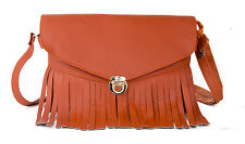 NEW HANDBAGS SLING HAND SHOULDER FOR LADIES WOMEN GIRL LEATHER PURSE BAGS CARDS