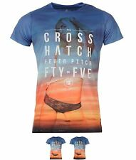 MODA Cross Hatch Hatch Beach Bambina T-shirt Uomo Out At Sea