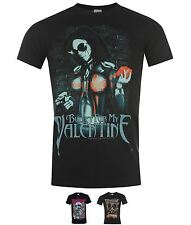 SPORTS Official Bullet for My Valentine T-shirt Serpent Rose