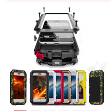 WATERPROOF Shockproof Aluminum GORILLA GLASS Metal Cover Case For iPhone Models